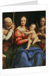 The Holy Family with St. Catherine, 1515-20 by Cesare da Sesto