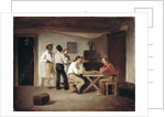 Sailors Playing a Board Game in a Tavern by Christian Andreas Schleisner