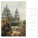 Watching Queen Victoria's Jublilee celebrations outside St. Pauls by English School