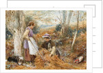 The Fern Gatherers by Myles Birket Foster