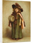 Ready to go out: The Girl with the Muff by Kate Greenaway