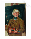 Musician with a Violin by T. Clare