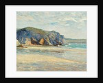 La Plage à Morgat, Finistère, 1899 by Maxime Emile Louis Maufra