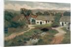 Ilkley Bridge, 1893 by Fred Challacombe