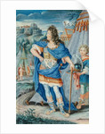 French Noble in Medieval Costume by French School