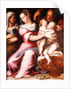 The Holy Family with the Infant St. John the Baptist by Italian School