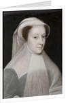 Mary Stuart, 1560 by Jean (school of) Clouet