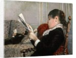 Interior, Woman Reading, 1880 by Gustave Caillebotte