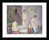 Models, 1886-88 by Georges Pierre Seurat