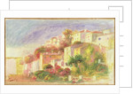Garden of the Post Office at Cagnes, 1918 by Pierre Auguste Renoir