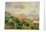 View from Montmartre, 1892 by Pierre Auguste Renoir