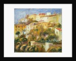 House at Cagnes, c.1900 by Pierre Auguste Renoir