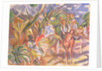 Southern Scene with Man Driving a Carriage, 1915 by Jules Pascin