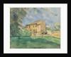 The Farm at Jas de Bouffan by Paul Cezanne