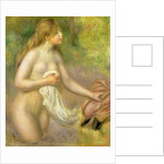 Nude in Brook, 1895 by Pierre Auguste Renoir