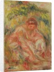 Woman at Rest in Landscape, 1916 by Pierre Auguste Renoir