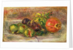 Pomegranates and Figs, 1917 by Pierre Auguste Renoir
