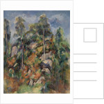 Rocks and Trees, c.1904 by Paul Cezanne