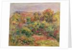 Landscape by Pierre Auguste Renoir