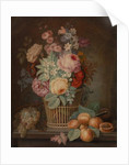 Still Life with Flowers in a Basket by French School