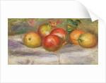 Apples, 1911-12 by Pierre Auguste Renoir