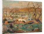 Landscape with Gnarled Trees by Ernest Lawson