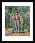 Gardener by Paul Cezanne