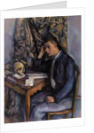 Young Man and Skull, 1896-98 by Paul Cezanne