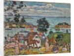 Gloucester Harbor, c.1912 by Maurice Brazil Prendergast