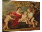 Holy Family in a Landscape by Peter Paul Rubens