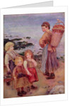Mussel Fishers at Berneval, 1879 by Pierre Auguste Renoir