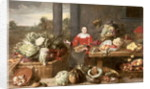 A Fruit Stall by Frans Snyders or Snijders