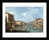 Regatta on the Grand Canal by Canaletto
