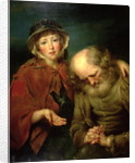 The Blind Beggar and his Grand-Daughter by John Russell