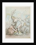 Actresses' Dressing Room at Drury Lane by Thomas Rowlandson