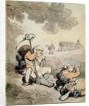 Light Infantry Volunteers, 1804 by Thomas Rowlandson