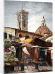 Near the Duomo, Florence, 1878 by Henry Roderick Newman