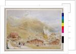 Engelberg, Sunday morning, c.1909-11 by Albert Goodwin