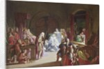 The re-enactment of the death of Hamlet's father, Act III, Scene 2 by John Gilbert