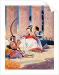 Cleopatra by René Bull