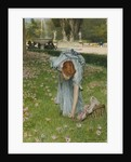 Flora - Spring in the Gardens of the Villa Borghese by Lawrence Alma-Tadema