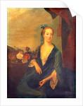 Lady In Blue, 1700 by British School