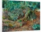 A Mossy Glen, 1864 by John Atkinson Grimshaw