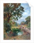 The Drinking Pool by Henry John Yeend King