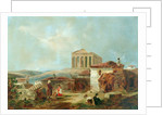 Athens With The Acropolis, 1839 by William James Muller