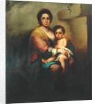 Virgin and child, 18th century by Bartolome Esteban Murillo