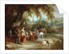 A Gypsies' Encampment, 1788 by William Shayer