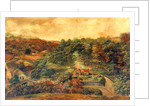 House and Mill in Rural Woodland, c,1880 by Unknown Artist