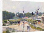 Fourteenth of July at Marly-le-Roi, 1875 by Alfred Sisley
