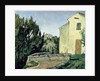 The Abandoned House at Tholonet by Paul Cezanne